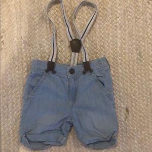 Oshkosh short overalls